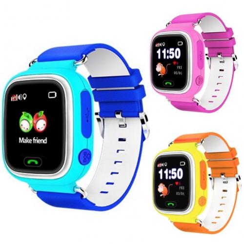 Детские часы с GPS трекером Smart Baby Watch Q80 - Q90 (G72 WiFi) с ... 674373ddf289e