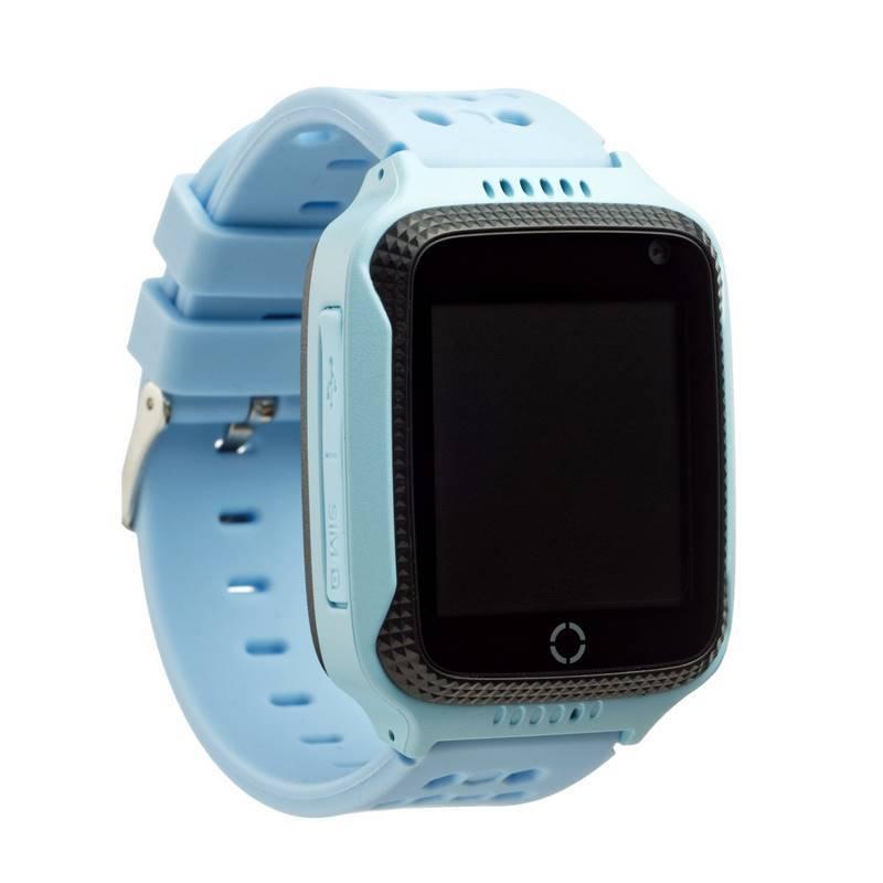 Детские GPS часы Smart Baby Watch T7 (Q65) с фонариком - Голубой ... bf932a27912c3